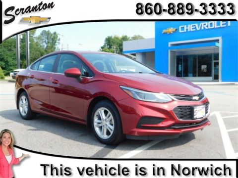 New 2018 Chevrolet Cruze LT FWD 4D Sedan