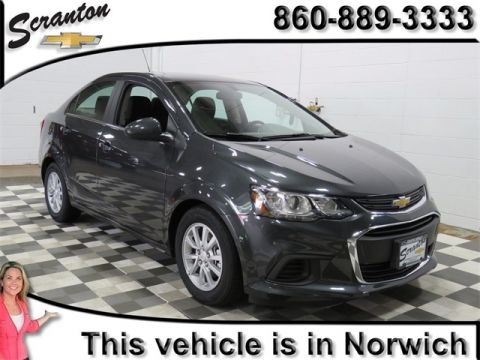 New 2017 Chevrolet Sonic LT FWD 4D Sedan