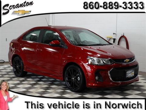 New 2017 Chevrolet Sonic Premier FWD 4D Sedan