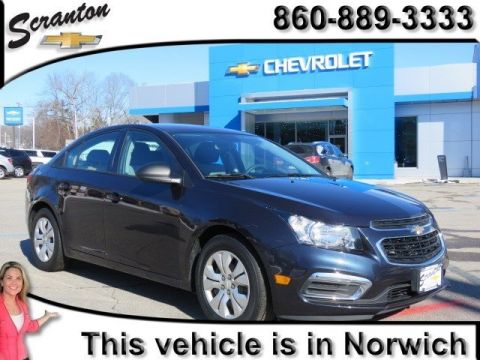 Certified Pre-Owned 2015 Chevrolet Cruze LS FWD 4D Sedan