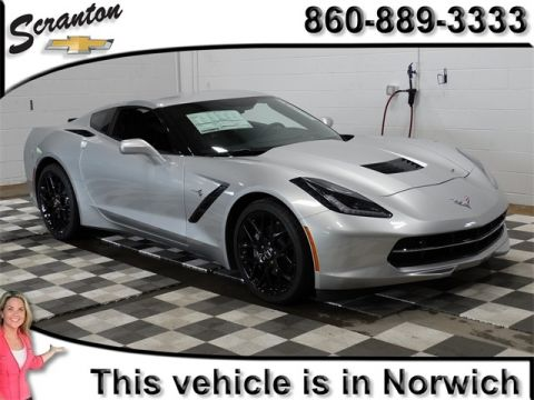 New 2017 Chevrolet Corvette Stingray RWD 2D Coupe