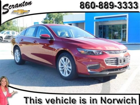 New 2018 Chevrolet Malibu LT FWD 4D Sedan