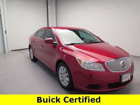 Certified Pre-Owned 2012 Buick LaCrosse Base FWD 4D Sedan