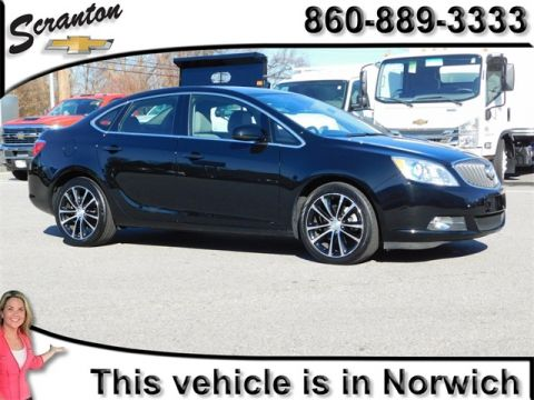 Pre-Owned 2017 Buick Verano Sport Touring FWD 4D Sedan