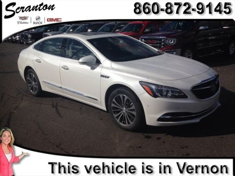 New 2017 Buick LaCrosse Leather Group FWD 4D Sedan