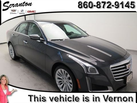 New 2017 Cadillac CTS 2.0L Turbo Luxury AWD