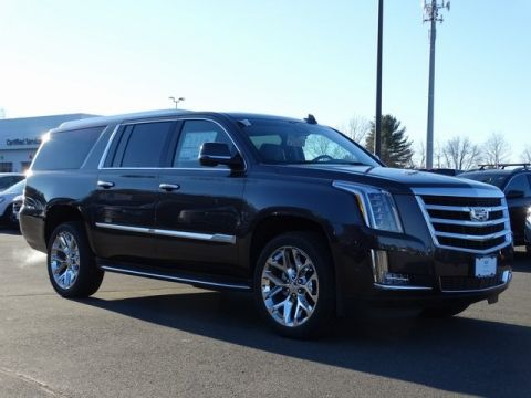 New 2018 Cadillac Escalade ESV Luxury 4WD