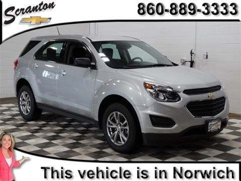 New 2017 Chevrolet Equinox LS AWD