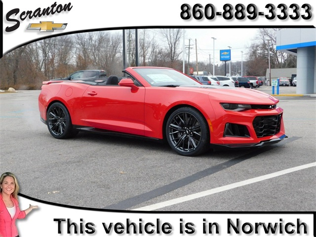 Cardesta used 2018 chevrolet camaro overview from for Scranton motors vernon connecticut
