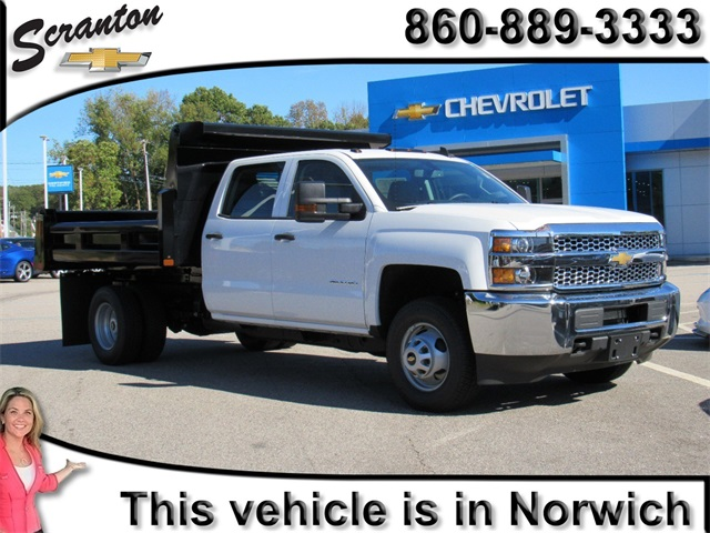 New 2019 Chevrolet Silverado 3500hd Work Truck 4d Crew Cab In Vernon