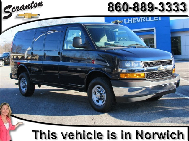 Chevy Express Van >> New 2018 Chevrolet Express 3500 Work Van 3d Cargo Van In Vernon