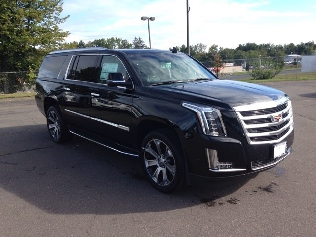 New 2017 Cadillac Escalade Esv Luxury 4d Sport Utility In