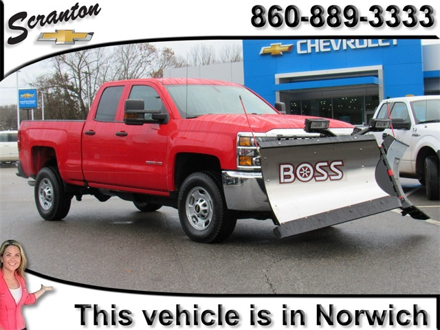 New 2019 Chevrolet Silverado 2500hd Work Truck Double Cab In Vernon
