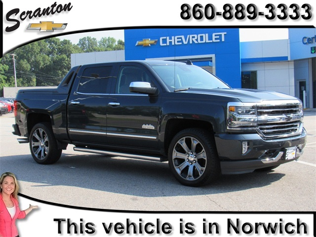 Certified Pre Owned 2017 Chevrolet Silverado 1500 High Country